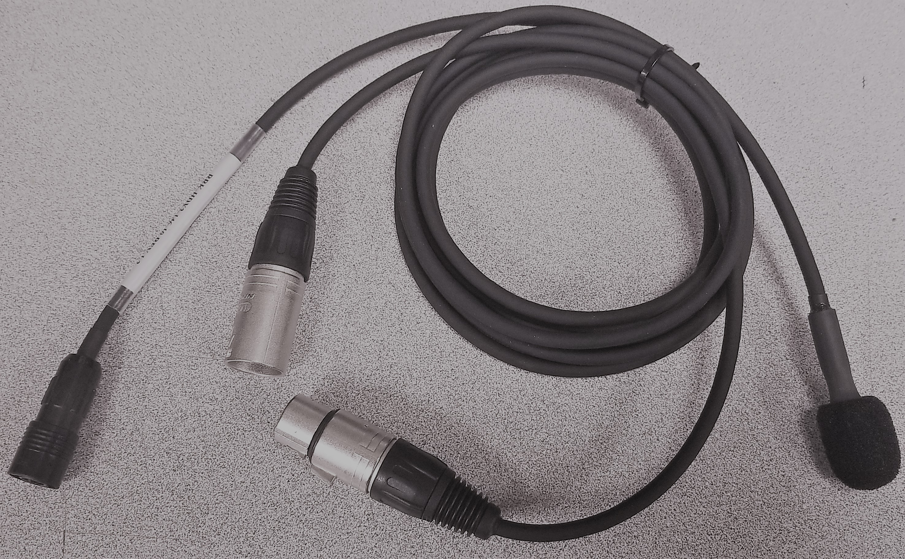 Mic with XLR open