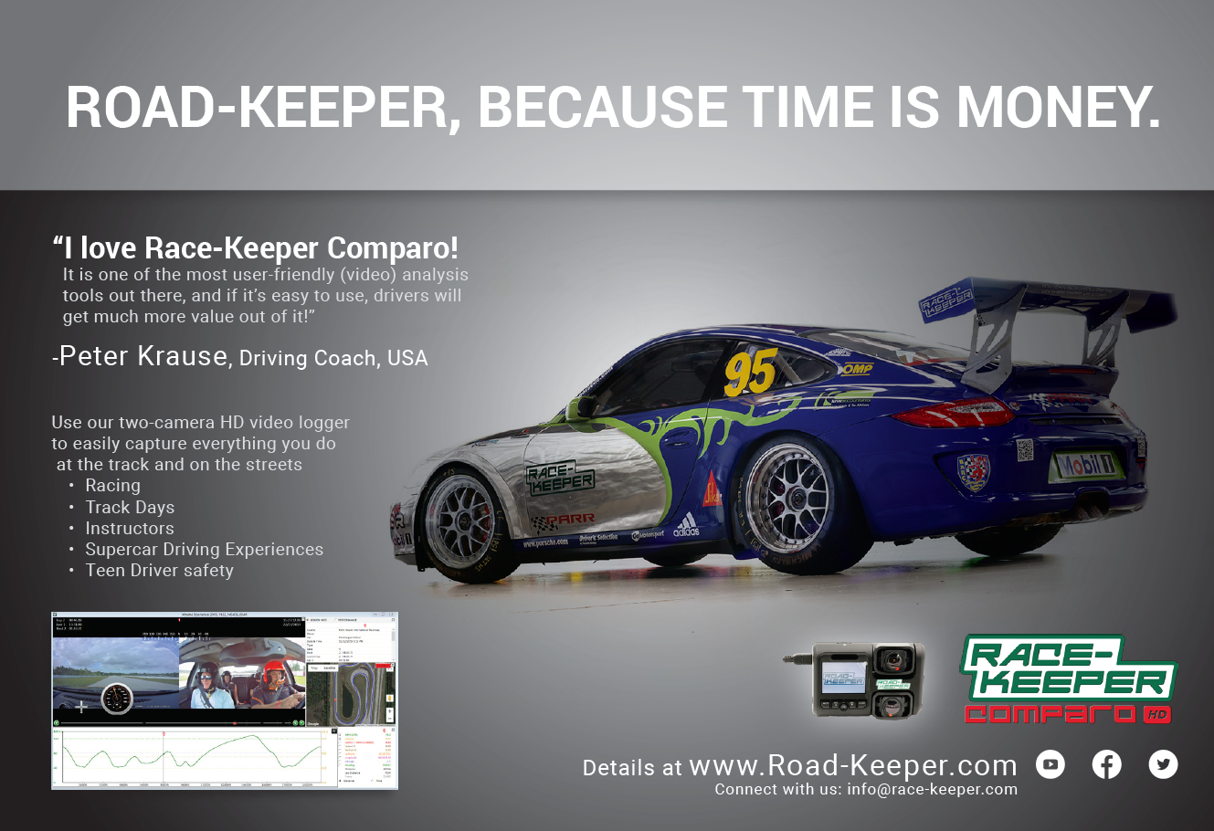 Road-Keeper, Because Time is Money