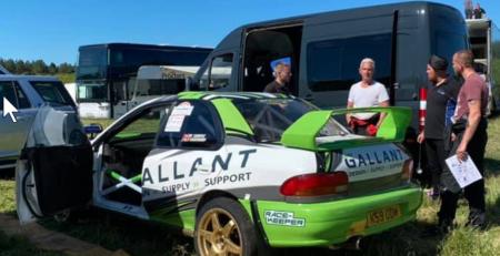 Gallant Race-Keeper Rally Team